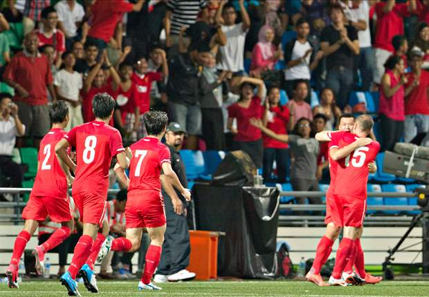 Four uncapped players in Singapore squad for Hong Kong friendly