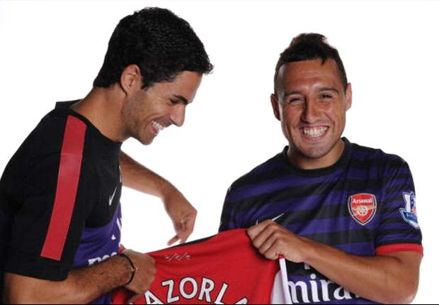 Cazorla suits the way Arsenal play, says Arteta