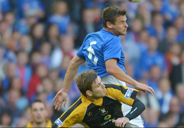 Rangers 2-0 Motherwell: McCulloch & Shiels send hosts through at expense of SPL leaders