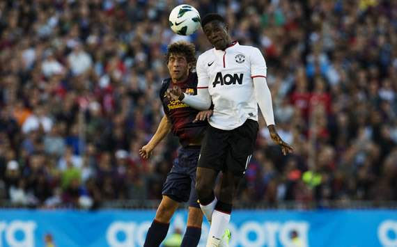 Sergi Roberto, Danny Welbeck, Manchester United, Barcelona