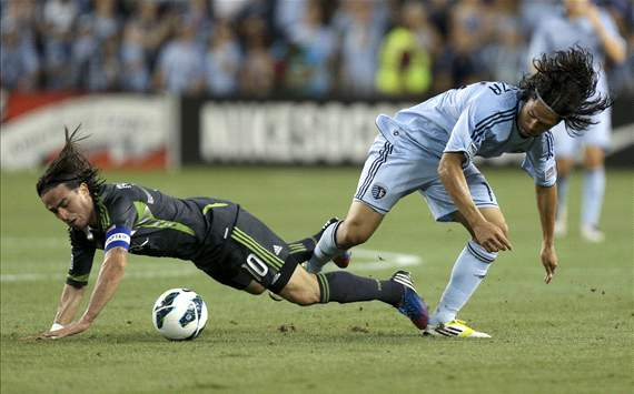 Roger Espinoza, Sporting Kansas City; Mauro Rosales, Seattle Sounders FC; U.S. Open Cup