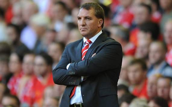 Europa League - Liverpool vs Gomel, Brendan Rogers