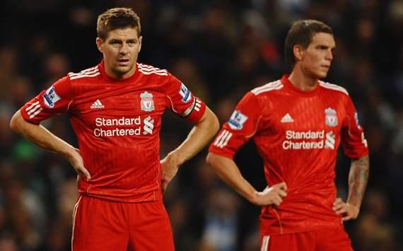 Steven Gerrard & Daniel Agger