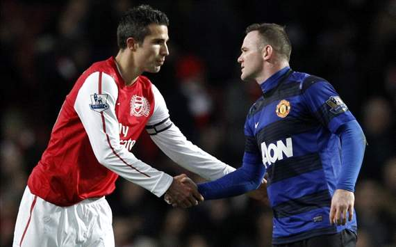 van persie-rooney