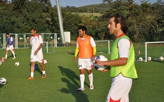 Iran National Team training رضا قوچان نژاد