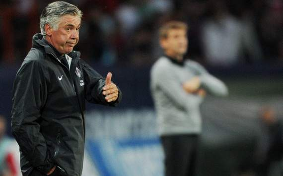 Ligue 1, PSG - Ancelotti: &quot;Je regrette mon geste&quot;
