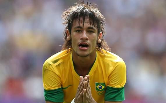 Olympics Day 15 - Men's Football Final - Brazil v Mexico, Neymar