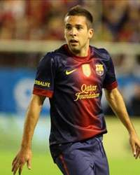 Jordi Alba - FC Barcelona vs Manchester United