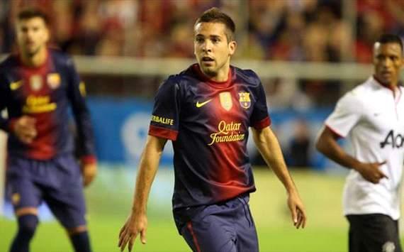 Jordi Alba - FC Barcelona vs Manchester United