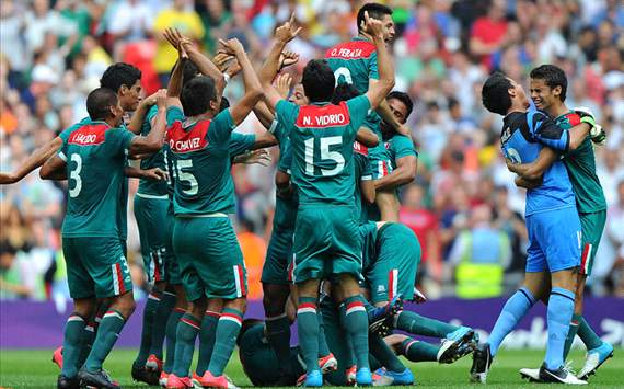 Mexico stun hapless Brazil to win Olympic gold