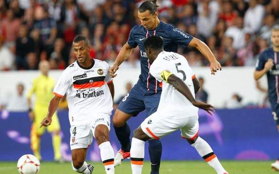 Ligue 1 : Zlatan Ibrahimovic vs Alaixys Romao (Paris SG vs FC Lorient)