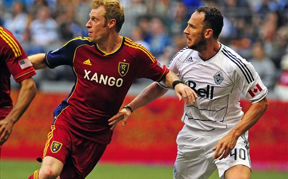 Nat Borchers, Real Salt Lake; Andy O'Brien, Vancouver Whitecaps; MLS