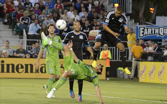 Sammy Ochoa, Jason Hernandez: San Jose Earthquakes - Seattle Sounders FC