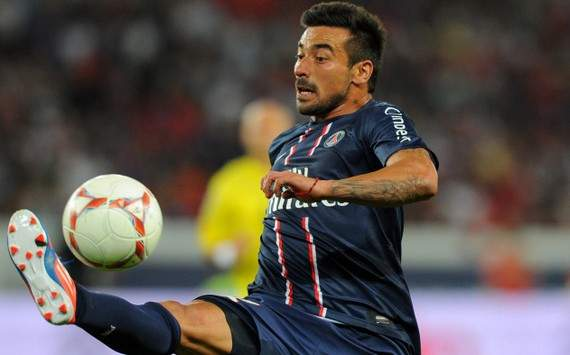 Ligue 1 : Ezequiel Lavezzi (Paris SG)