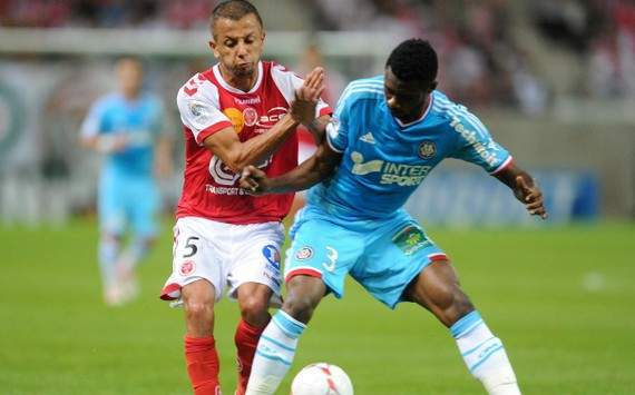 Ligue 1 : Kamel Ghilas vs Nicolas Nkoulou (Reims vs Olympique de Marseille)