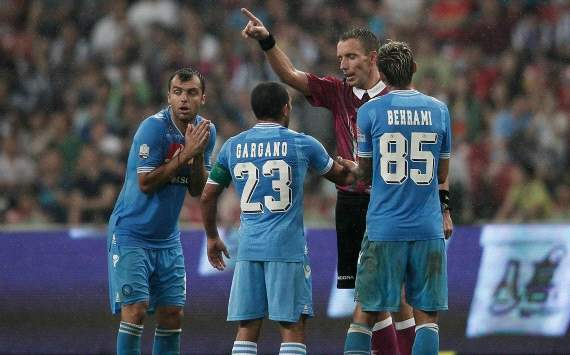 Napoli lodge appeal against Dossena and Pandev bans