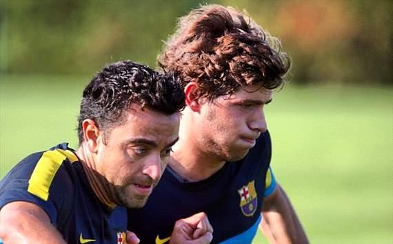 سيرجي روبيرتو يغيب شهراً كاملاً عن برشلونة 202915hp2