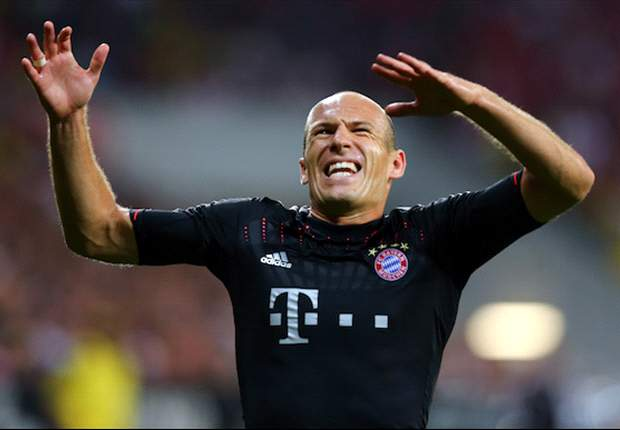 Robben: Bayern Munich are hungry for success