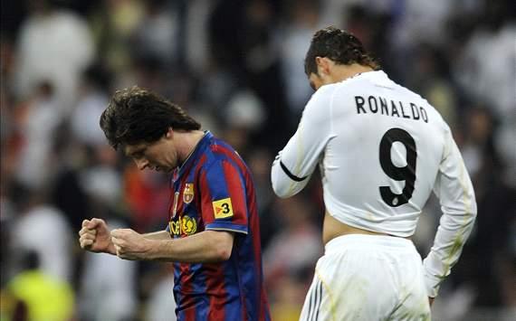 Messi Ronaldo two