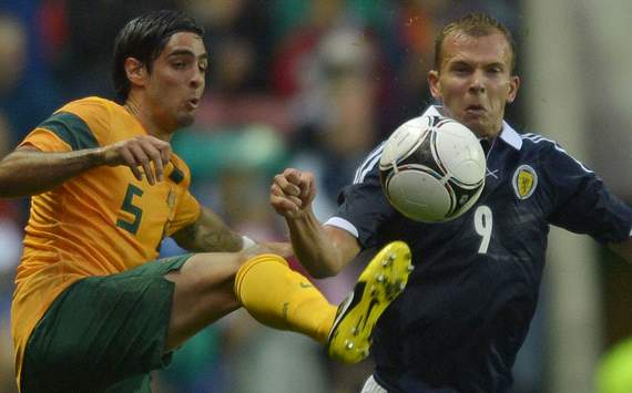 Scotland v Australia - Rhys Williams - Jordan Rhodes