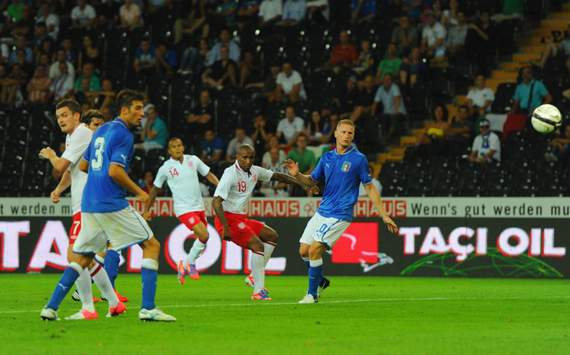 England v Italy, Jermain Defoe