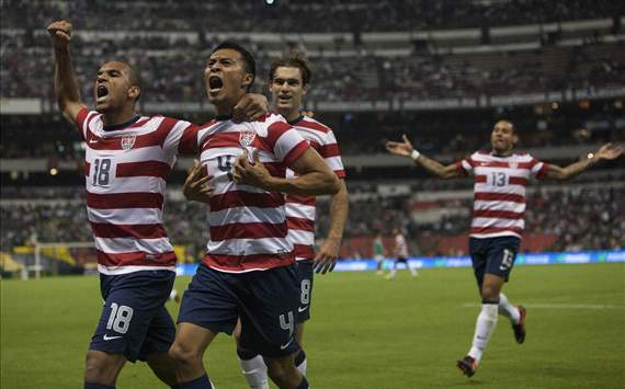 Michael Orozco Fiscal, Terrence Boyd, Graham Zusi, USA - Mexico