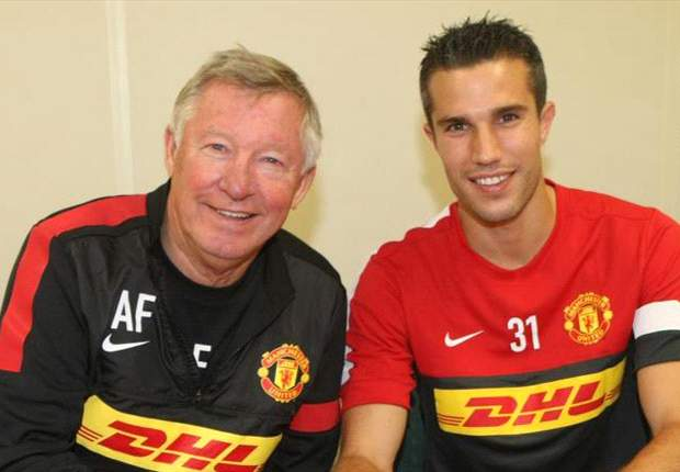 In Pictures: Welcome to Manchester United, Robin van Persie
