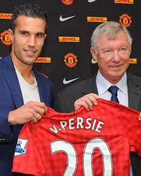van persie and ferguson press con