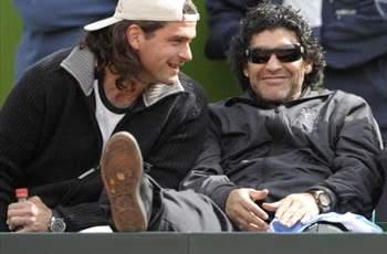 Mancuso-Maradona, los buenos tiempos