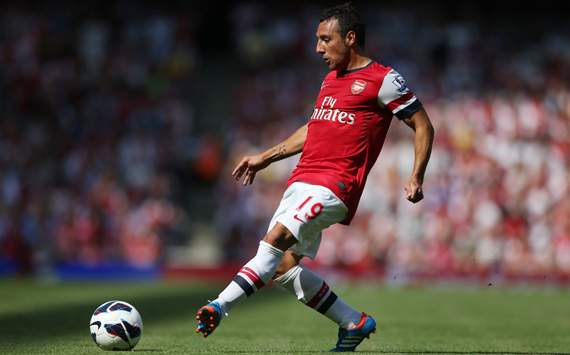 EPL - Arsenal v Sunderland,  Santi Cazorla