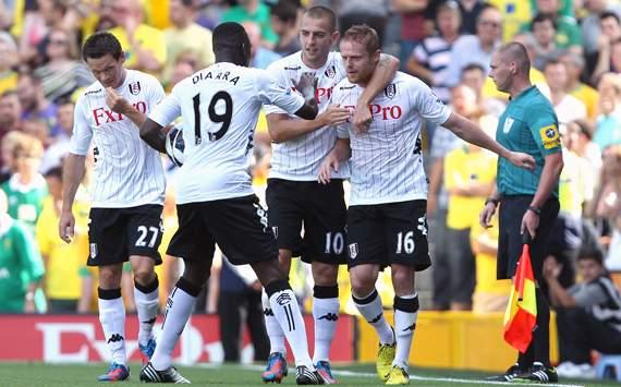 EPL - Fulham v Norwich City, Damien Duff