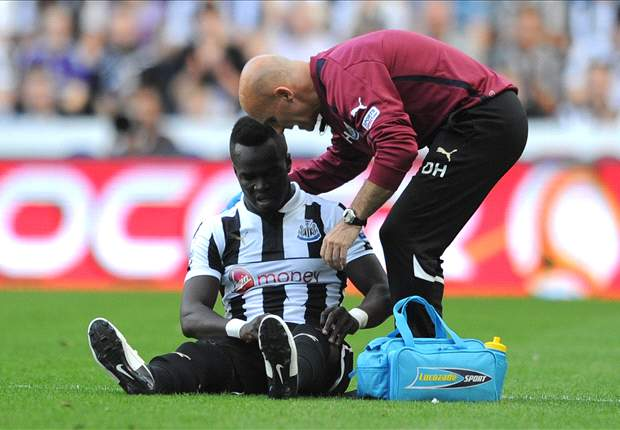 'I need to be a lot more careful' - Tiote hoping to improve Newcastle disciplinary record