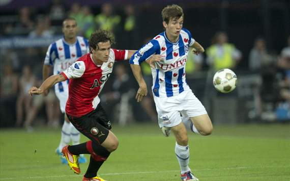 Djuricic en Janmaat - Feyenoord - Heerenveen