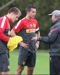 Ferguson &amp; Robin Van persie