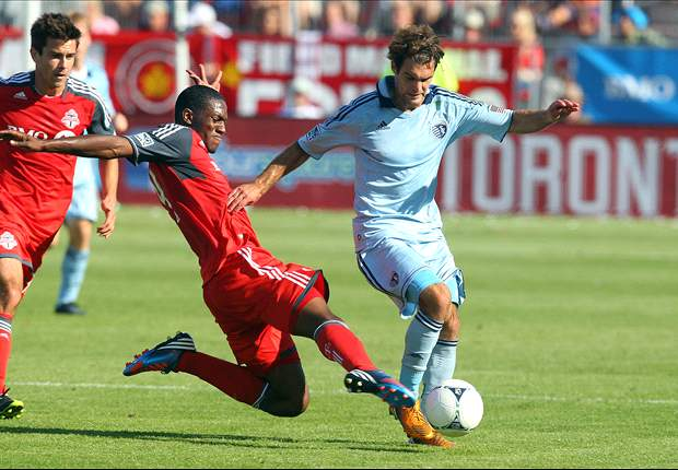 Sporting Kansas City confirms Graham Zusi training at West Ham