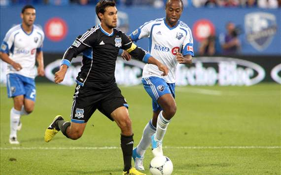 Collen Warner, Montreal Impact; Chris Wondolowski, San Jose Earthquakes; MLS