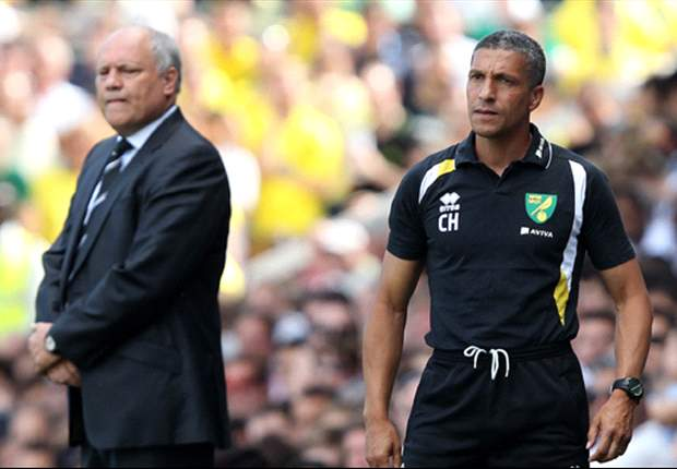 Norwich boss Hughton wants defensive improvement after heavy Fulham defeat