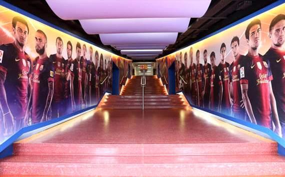 Barcelona túnel Camp Nou