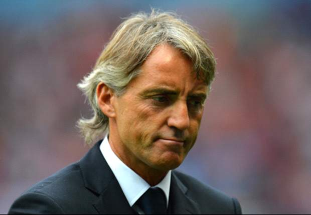 Manchester City boss Mancini likens Crouch handball goal to 'NBA not football'