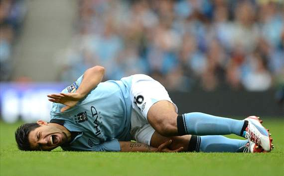 Injured Aguero set to anger Mancini by playing for Argentina