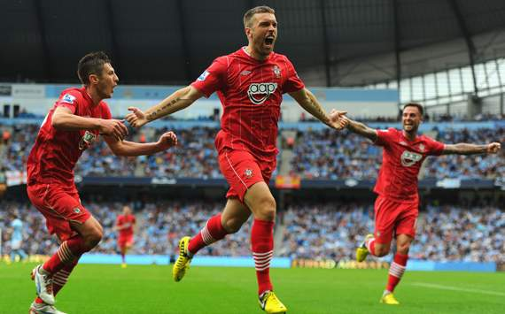 Manchester City v Southampton, Rickie Lambert