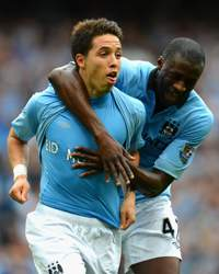 EPL:   Samir Nasri - Yaya Toure, Manchester City v Southampton