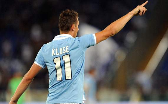 Klose: I want to stay at the top with Lazio