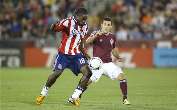 Martin Rivero, Colorado Rapids; Sharlrie Joseph, Chivas USA; MLS