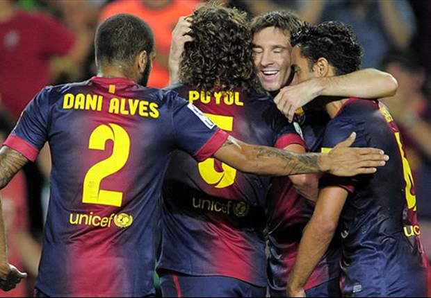 La Liga Team of the Week: Puyol &amp; Messi shine for Vilanova's Barcelona