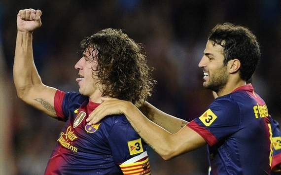 Carley Puyol, Cesc Fabregas - FC Barcelona, Real Sociedad