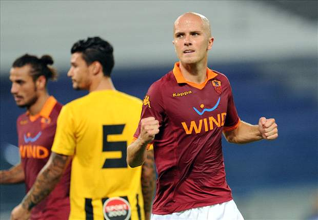 Michael Bradley scores in Roma's final preseason match, against Aris FC