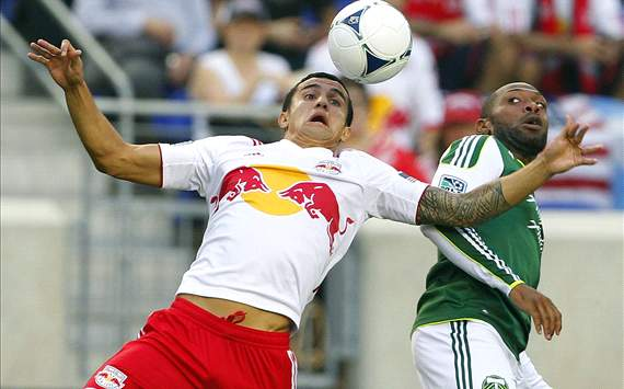 Tim Cahill, New York Red Bulls; Franck Songo'o, Portland Timbers; MLS
