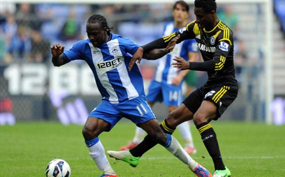 Moses no closer to Chelsea move, claims Martinez