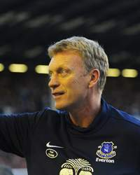 Everton v Manchester United, David Moyes
